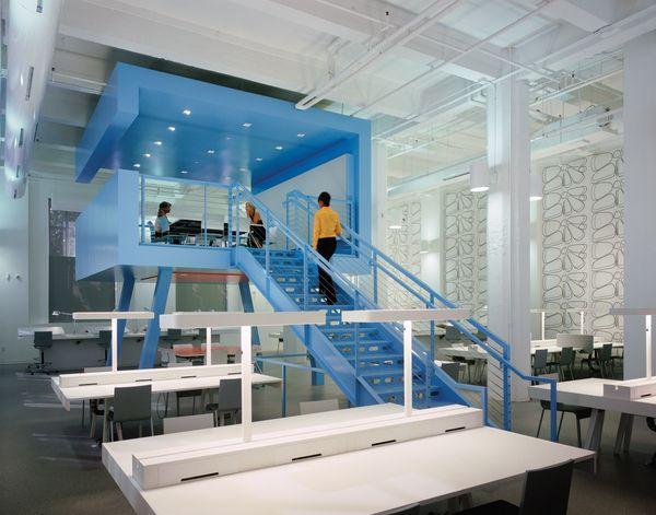 FIDM Los Angeles Annex Studio by Clive Wilkinson Architects , via Behance