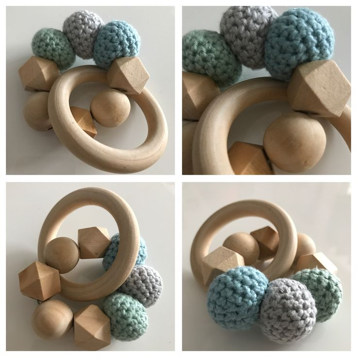 Baby blue rattle 👶🏼💙 - Made by Mikie Hjelm