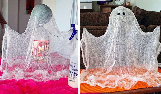 Halloween Dekoideen: Schwebegeist