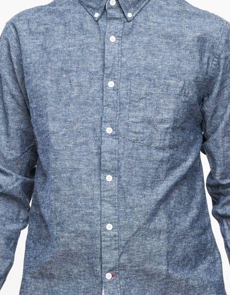 Chambray Button Down Shirt // I dig this texture (slub)