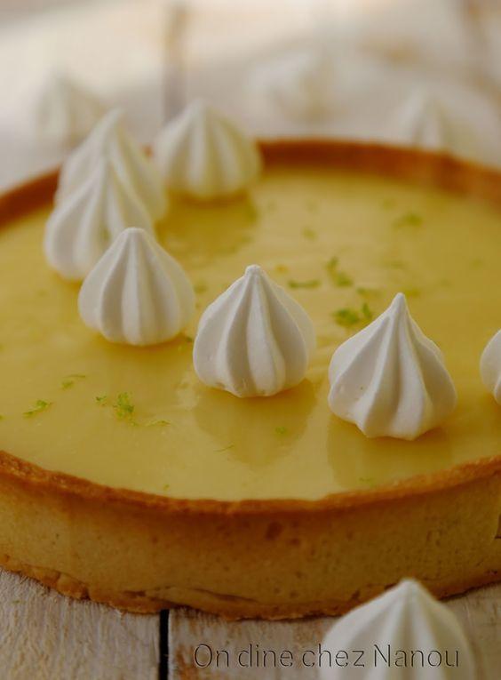 tarte au citron meringue croustillante