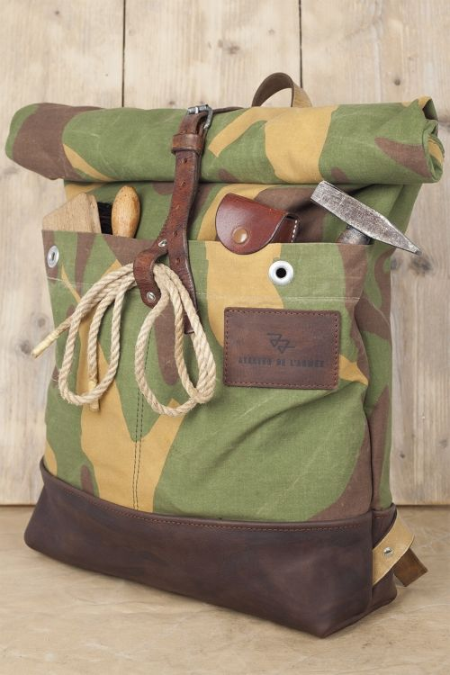 Atelier d'Armee Roll-Up Backpack