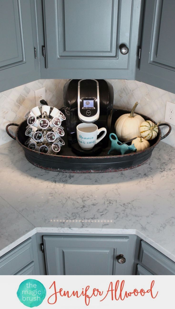 Cute Tray Decor Ideas Jennifer Takes One Tray And Styles It For For Centerpieces Coffee Tables Kitchen Counters And Th Tray Decor Sweet Home Kitchen Remodel