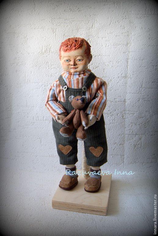 Рыжик. - рыжий,кукла-ребенок,шалун,подарок мальчику,рыжий мальчик,кукла мальчик