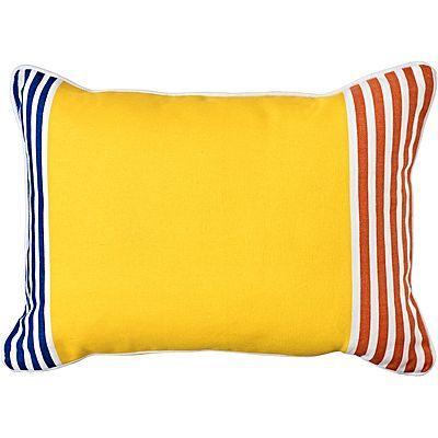 Sao Paulo Outdoor Cushion, Lemon