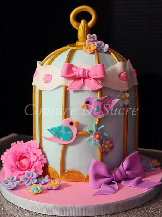 Purple Decorated Cakes