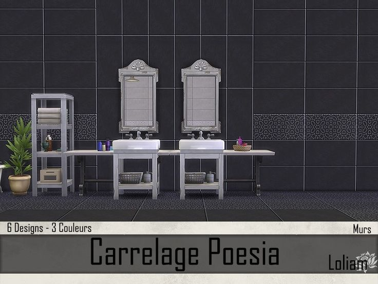 Collection Carrelage Poesia