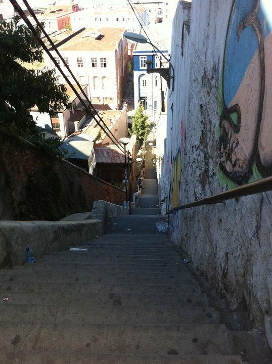 Valparaiso Los cerros y sus historias