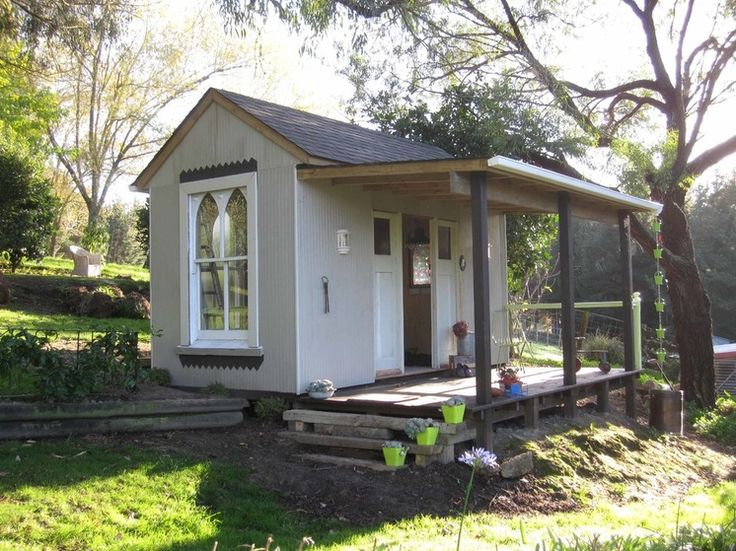 Creative Houzz Users Share Their 'She Sheds' (lots of examples)