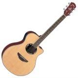 Salah satu gitar akustik seri APX 500 ini memiliki banyak umpan balik yang baik dari para penggunanya. Mulai dari banyaknya pilihan warna dan memiliki respon suara yang baik, Yamaha APX 500 sudah menjadi gitar pilihan bagi para pecinta gitar acoustic.