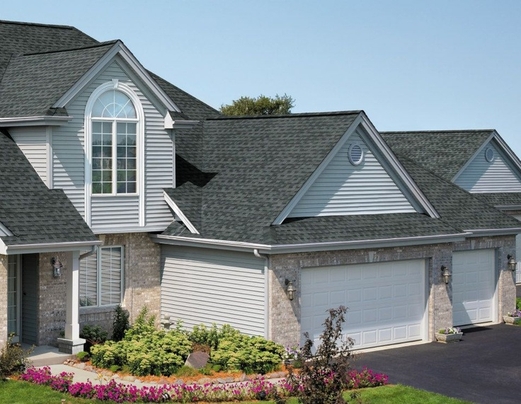 GAF Timberline Natural Shadow Shingles In Pewter Gray