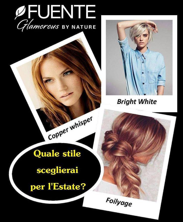 L'Estate è anche stile! E non importa quale di questi ti rappresenta, ma per il tuo colore scegli solo Tierra by Fuente, il vero Colore Organico per il benessere dei tuoi capelli ;-)