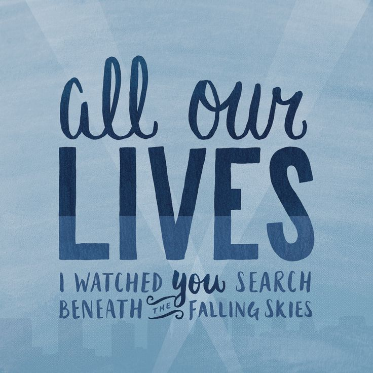 All Our Lives - Andrew McMahon in the Wilderness