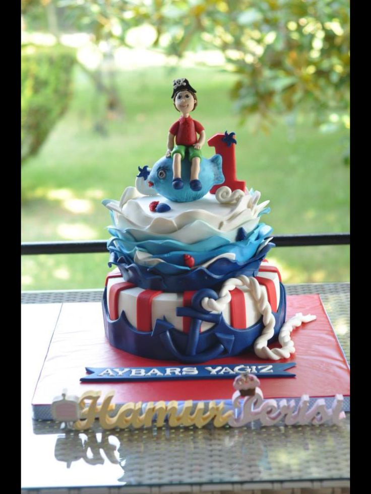 Marine Cake
