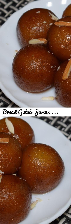 Bread Gulab Jamun Recipe  - How to make Gulab Jamun with Bread - Instant Gulab Jamun Recipe... Tags: bread gulab jamun, gulab jamun, bread gulab jamun recipe, gulab jamun recipe, bread gulab jamun recipe in urdu, gulab jamun recipe in urdu, bread gulab jamun recipe in hindi, how to make bread gulab jamun, Easy Bread Gulab Jamun, Indian easy dessert recipe, quick diwali sweet recipe, Sweet dish for kids, kala jamun recipe, milk powder gulab jamun recipe, gulab jamun without khoya recipe…