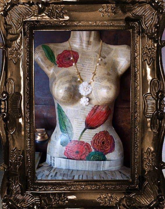 Romantic Pearls: Si lo puedes soñar.... Handmade necklace of cultured pearls. Collar de perlas cultivadas hecho a mano. Chic, elegante, vintage, elegant.