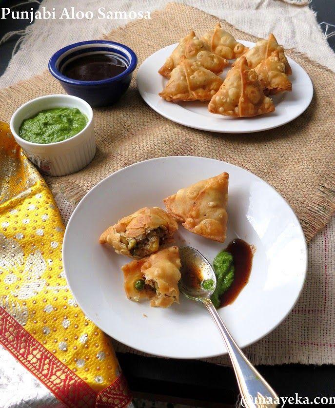 Authentic punjabi aloo samosa recipe sandwiches for Authentic punjabi cuisine