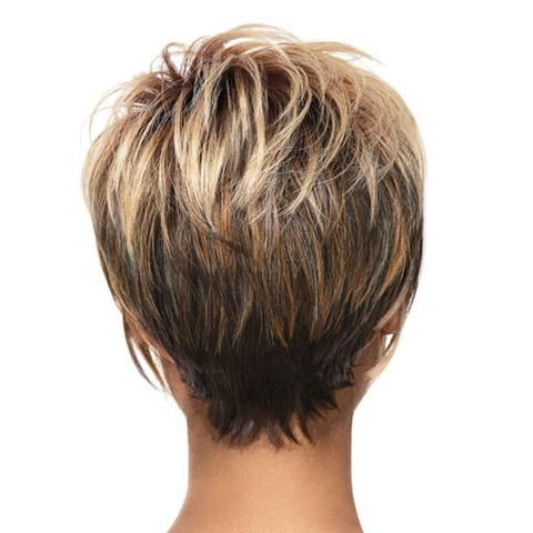 Fashionable Wig Short Curled Hair Cap - Mega Save Wholesale & Retail - 3