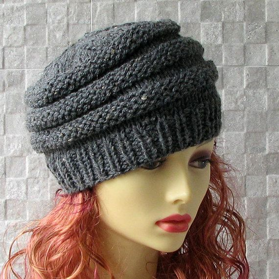 Winter Fashion 2015 Hand-knitted hat by the by AlbadoFashion
