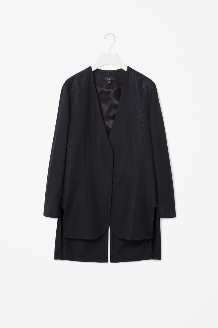 Split back blazer
