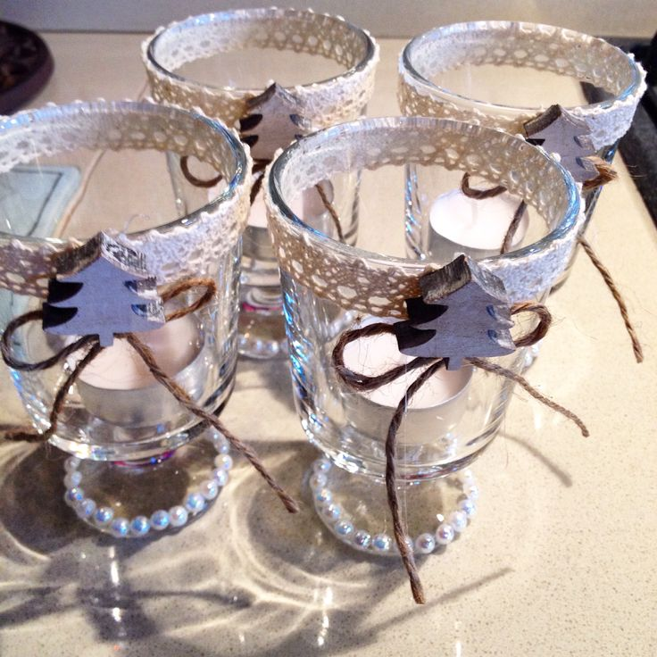 Bicchieri portacandele