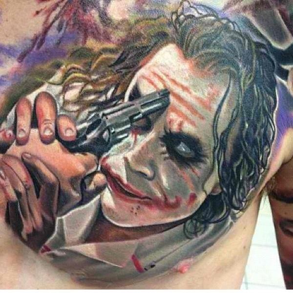 Awesome joker tattoo tats i want pinterest an for The joker tattoo