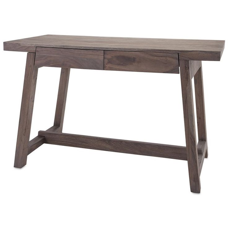 $489 Hernando Grey Oil Wood Desk. FROY