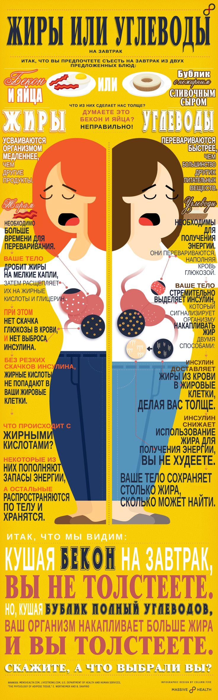 Жиры, углеводы