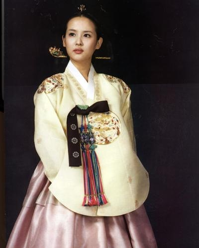 Hanbok for bride