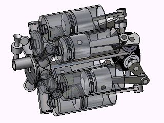 Trebert Axial Engine