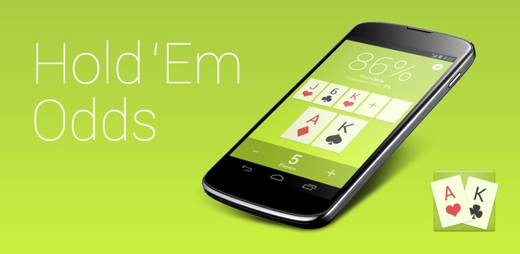 Hold 'Em Odds - Beautiful Texas Hold'em Odds Calculator App for Android