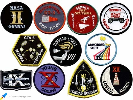 gemini space mission badges - photo #27