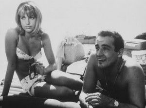 Il sorpasso (Le Fanfaron), 1962, by Dino Risi. Vittorio Gassman and Catherine Spaak.