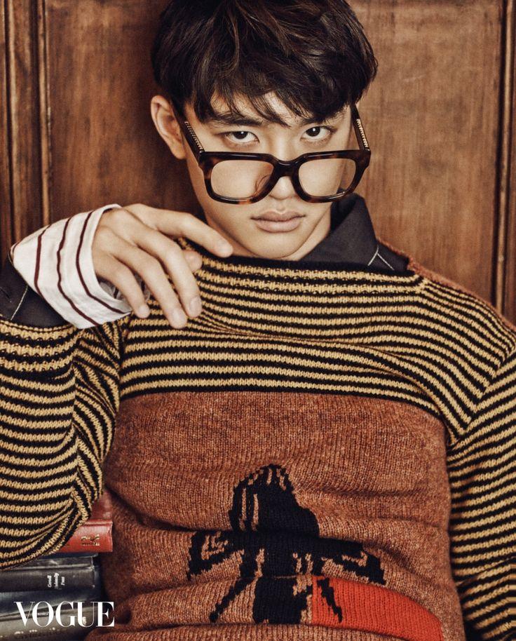 D.O (EXO) - Vogue Magazine February Issue '16