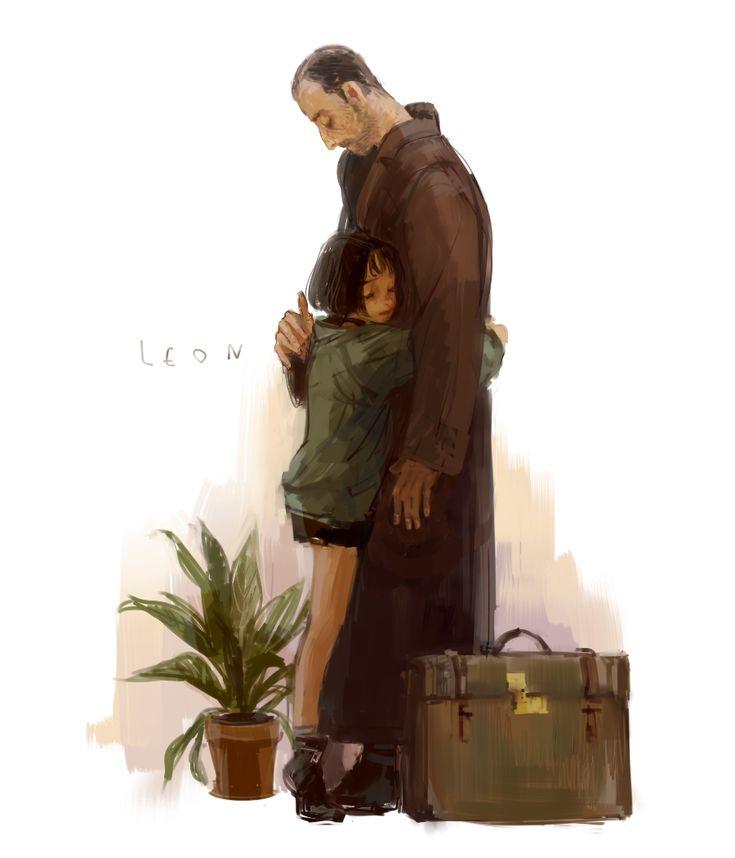 Leon: the professional ART - Leon and Mathilda