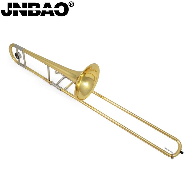 (244.72$)  Watch more here  - Professional Tenor trombone JBSL-710G B Flat tenor trombone with the mouthpiece with case, gloves, gold brass wind instruments