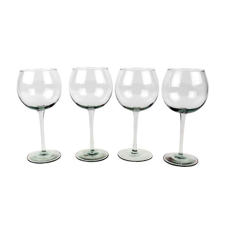Claret Glass Set of 4