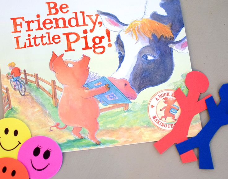 Be Friendly Little Pig - part of May 17 Baby Book Club box about Friendship. 3 books a month. Lovingly hand chosen. Delivered to your door.