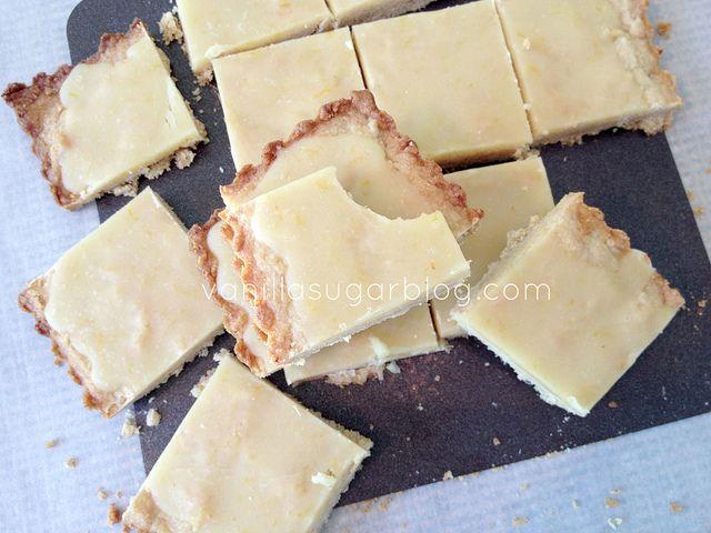 lemon crunch bars