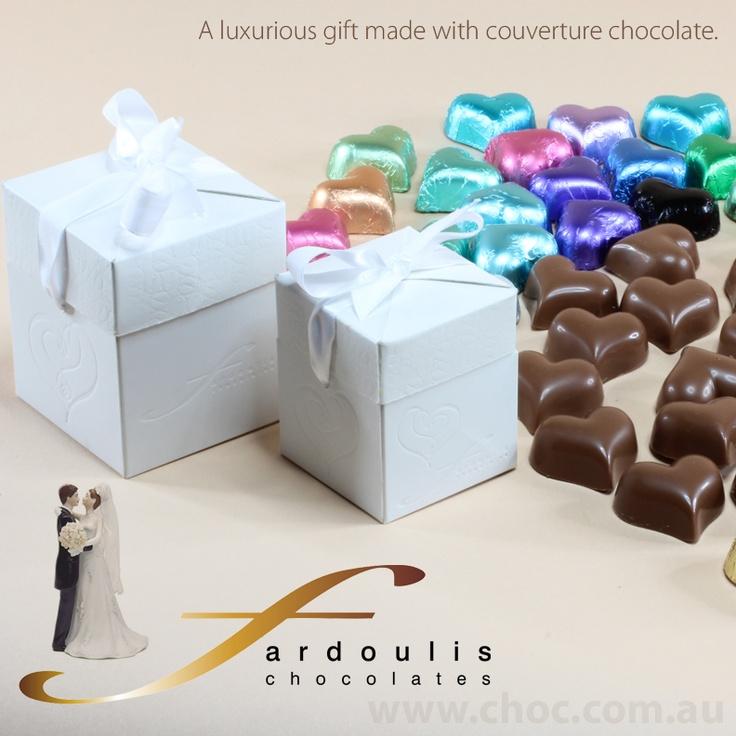 Fardoulis Chocolates - Wedding Chocolates  www.choc.com.au