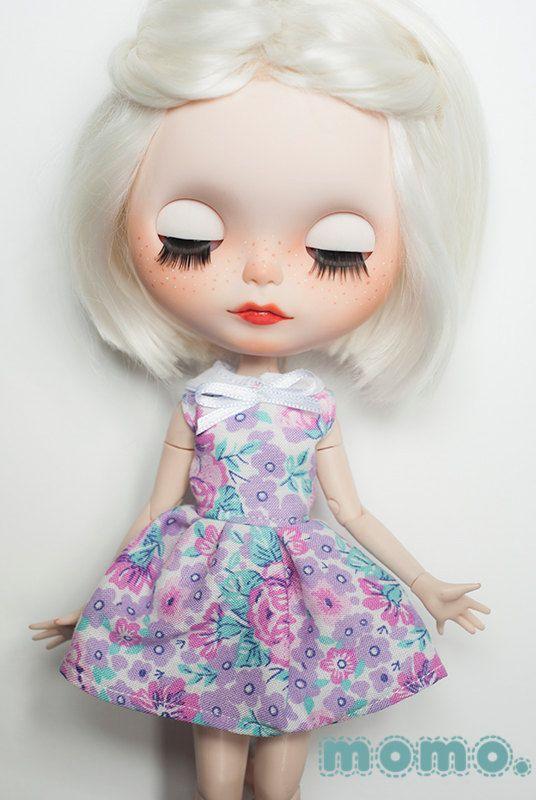 Blythe jarní květinové šaty s límečkem% PRODEJ