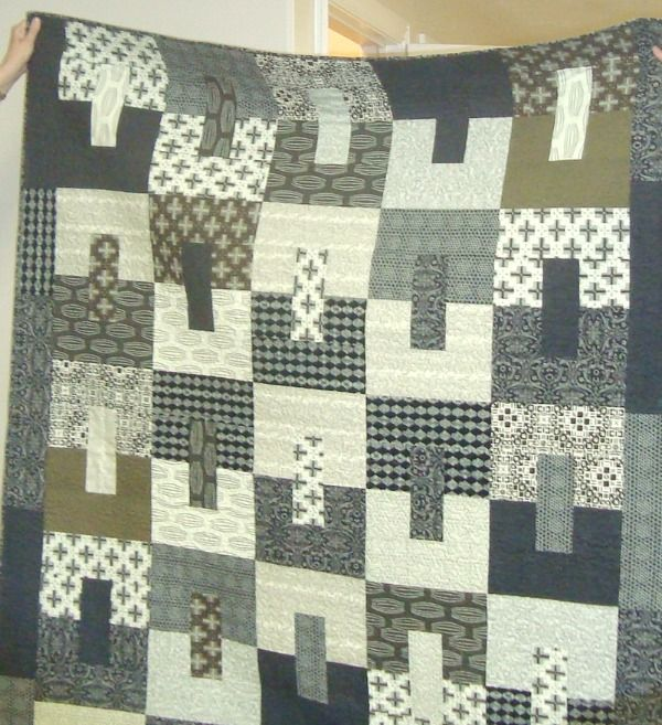Easy Quilt Patterns For Guys : 14 best images about Masculine Quilts on Pinterest Quilt, Jelly rolls and Rococo