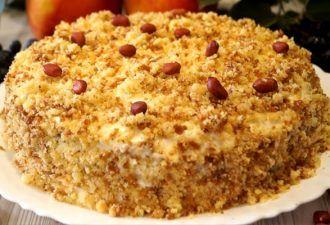 Шустрый торт «Сметанник». Рецепт проверенный годами!