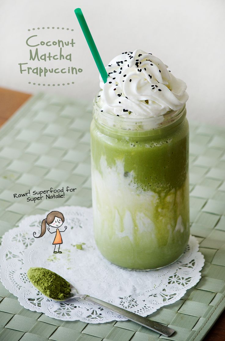 Obsessive Cooking: Coconut Matcha Frappuccino