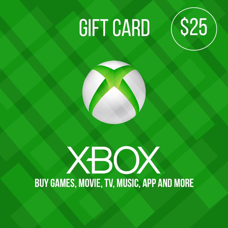 Get 25 xbox giftcard codes free xbox gift card