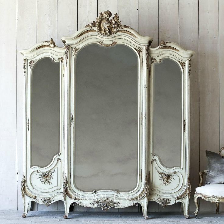Eloquence One of a Kind Antique French Louis XV Armoire