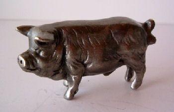 tinnen varken te koop uit Fräncis' VarkensCollectie voor 9,95 euro