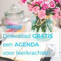 Download GRATIS een leerkrachten agenda 2017-2018