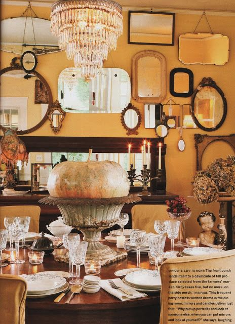 pics of outrageous party tablescapes | Vintage Inspiration Friday # 59 Fall Tablescapes