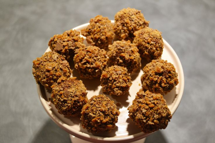 Chocolateballs with daim